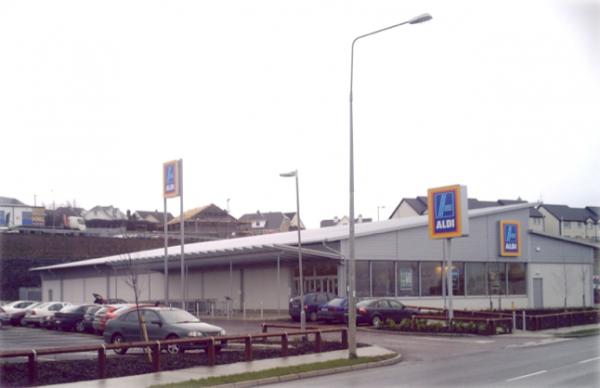 Aldi Store Buncrana Construction by McCallion Group