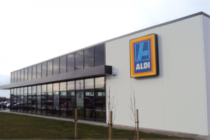 Aldi Store Tullamore Construction by McCallion Group