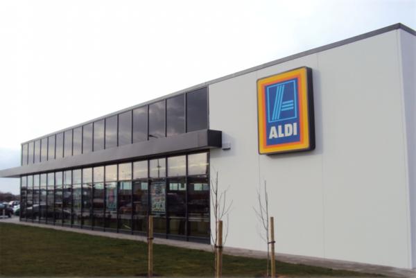 Aldi Store Tullamore Construction by McCallion Group